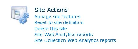 site-actions-no-site-template